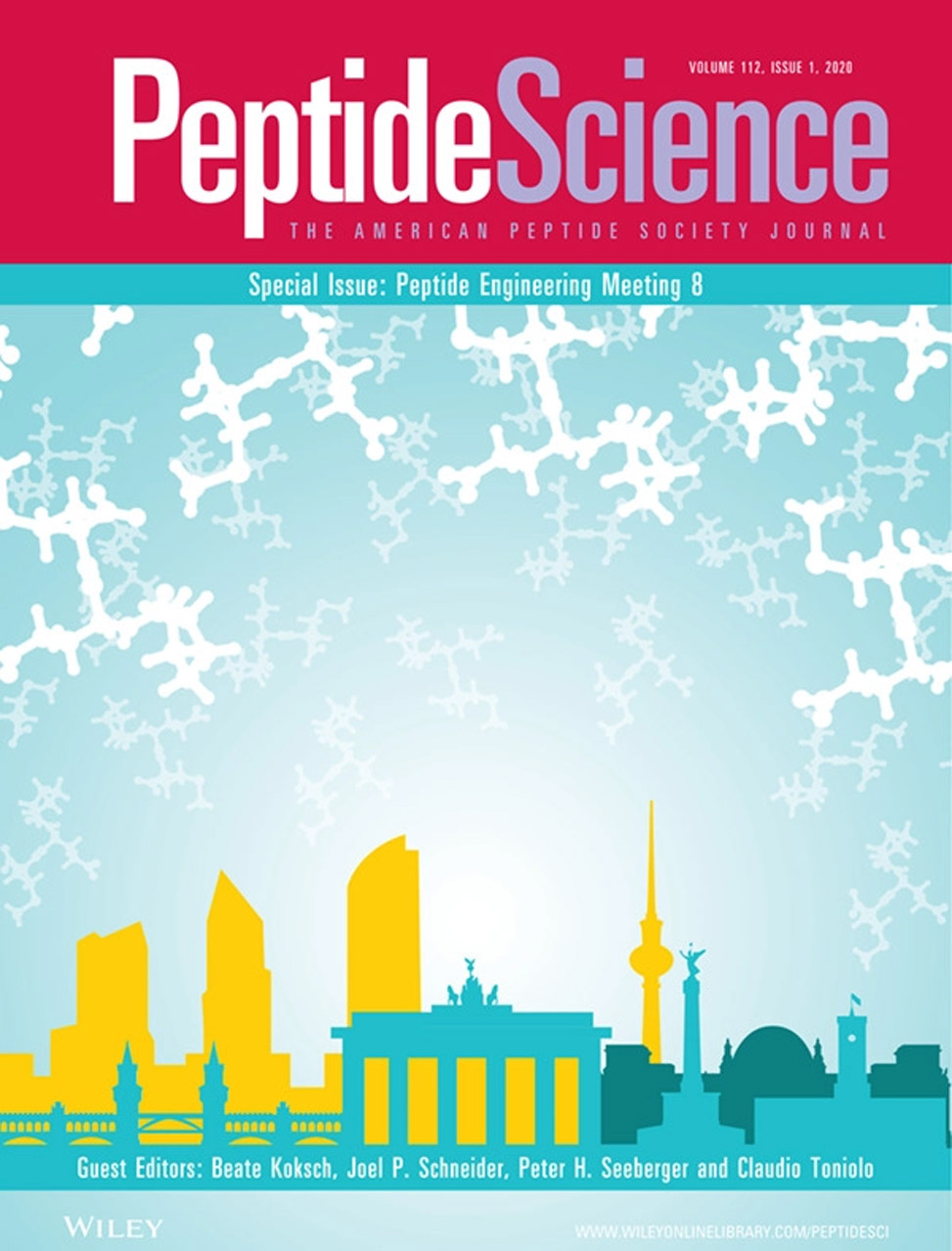 Peptide Science Cover